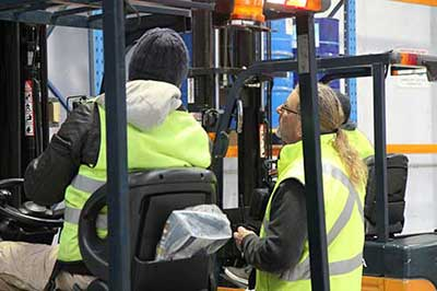 Cheap Onsite Forklift Licence Courses Melbourne - Trainix