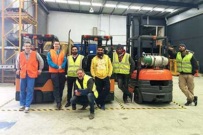 forklift training melbourne - Trainix