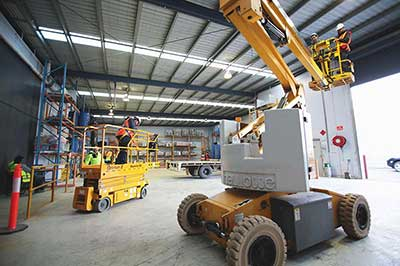 onsite forklift training melbourne - Trainix