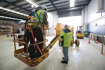Forklift Licence onsite - Training-Course - Trainix