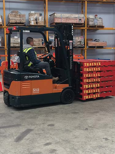 forklift licence training course in Melbourne with Trainix