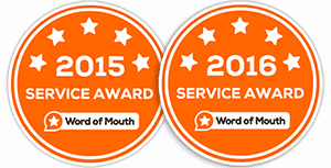 LO Licence Melbourne - Service award 215 and 2016 - Trainix