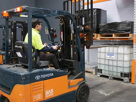 a forklift licence near me student at Trainix